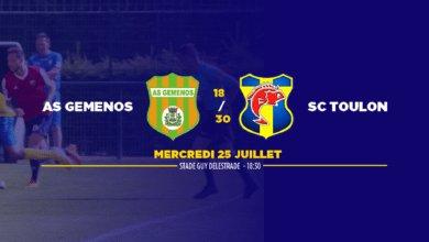 Photo de Amical : AS Gémenos – SC Toulon