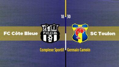 Photo de Amical : FC Côte Bleue – SC Toulon