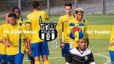 Photo de FC Côte Bleue – SC Toulon, le compte-rendu du match