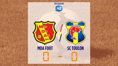 Photo of MDA Foot – SC Toulon, le compte-rendu du match