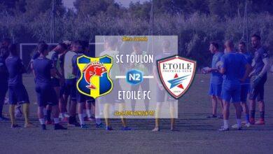 Photo de N2, J4 : SC TOULON – ETOILE FC FSR