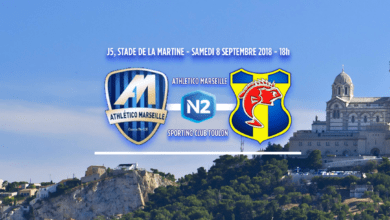 Photo of N2, J5 : ATHLETICO MARSEILLE – SC TOULON