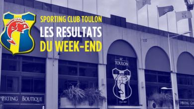 Photo of SC Toulon, retour sur les résultats du W.E.