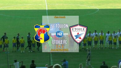 Photo de SC Toulon – Etoile FC FSR, le compte-rendu du match