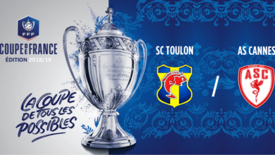 Photo de CDF, SC TOULON – AS CANNES