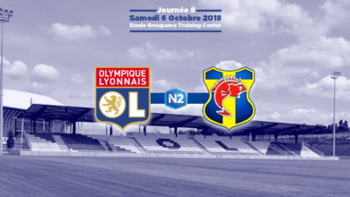 Photo of N2, J8 : O LYONNAIS – SC TOULON