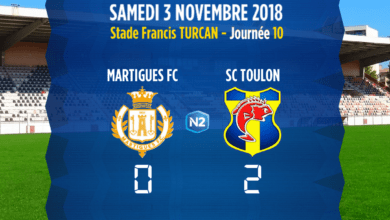 Photo de FC Martigues – SC Toulon, le compte-rendu du match
