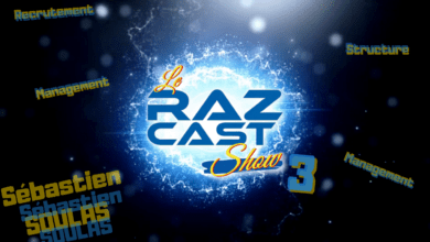 Photo of Le RazCast Show, épisode III