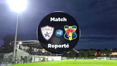 Photo de ETOILE FSR FC – SC TOULON (J18), reporté