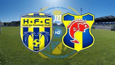 Photo de HYERES FC – SC TOULON (J27)