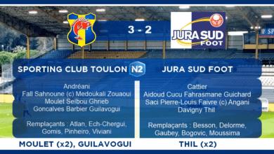 Photo of SC Toulon – Jura Sud Foot, le compte-rendu (J28)