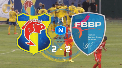 Photo of J4 : SC TOULON – FBBP 01, le compte-rendu