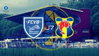 Photo of National J7, FC VILLEFRANCHE BEAUJOLAIS – SC TOULON