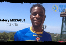 Photo of Valéry MEZAGUE, les supporters ne t'oublient pas