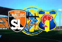 Photo of National J24, STADE LAVALLOIS MFC – SC TOULON
