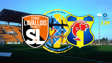 Photo de National J24, STADE LAVALLOIS MFC – SC TOULON