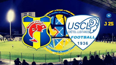 Photo de National J25, SC TOULON – US CRETEIL LUSITANOS